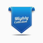 Mighty Collection Icon Design — Stock Vector