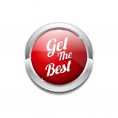 Get The Best Icon Button — Stock vektor