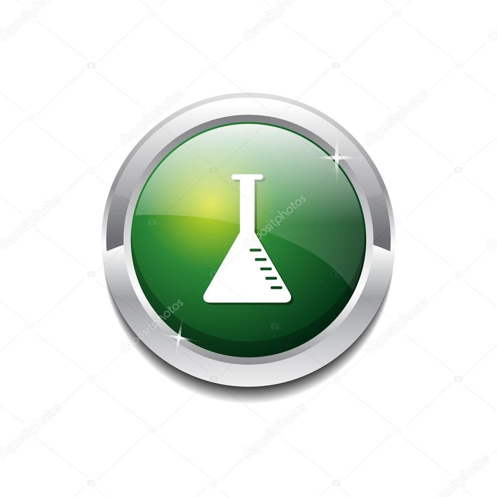 Conical Flask Conical Flask Green Vector