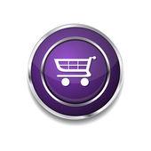кнопка символа покупок — Cтоковый вектор