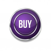 Comprar botón del icono — Vector de stock