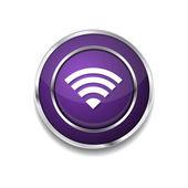 WIFI Icon Button — Vector de stock