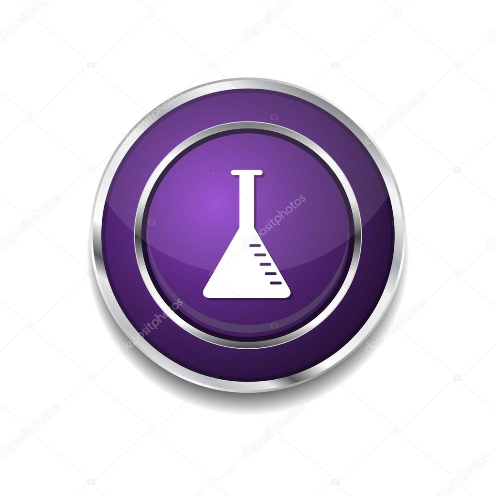 Conical Flask Conical Flask Purple Vector