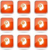Think Web Internet Icon Set — Vecteur