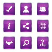 Web Internet Icon Set — Stockvektor