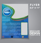 Flyer Brochure Vector Design — Stock vektor