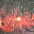 Fans of the SK Rapid — Stock Photo #61635601