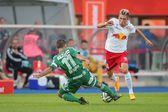 Rapid vs. Salzburg — Stock Photo