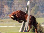 Carrera aérea de red bull — Foto de Stock