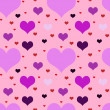 Vivid motley seamless valentine  pattern   — Stock Photo #52736463