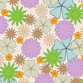 floral pattern  elegance background — 图库照片