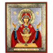 Ancient Orthodox icon. — Stock Photo #54672855