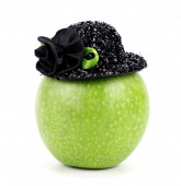 Apple with  Hat.. — Stock Photo