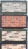 Brick wall texture background. — Stock Photo