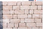 Tle kamiennego muru. — Zdjęcie stockowe