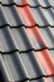 Roof tile. — Foto Stock