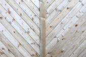 Close-up de parede feito de tábuas de madeira — Foto Stock