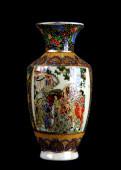 Chinese Porcelain Vase. — Stock Photo