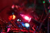 Christmas tree light — Stock Photo