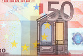 Closeup of the Euro currency money note. — Stock Photo