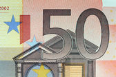 Closeup of the Euro currency money note — Stock Photo
