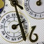 Luxury gold watch swiss made — Stock Photo #61143965