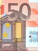 Detail 50 euro — Stock fotografie
