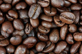 Coffee on grunge wooden background. — Stock Photo