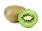 Kiwi fruit isolated on white background! — Foto Stock