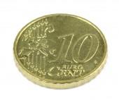 Ciento diez euros sobre fondo blanco — Foto de Stock