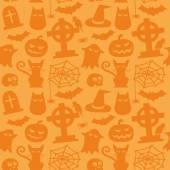 Halloween patroon — Stockvector