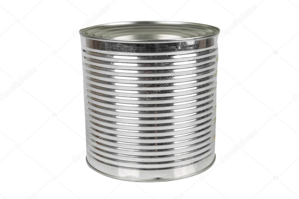 Bo te de conserve en aluminium pour produits alimentaires photographie real - Ouvrir boite de conserve ...