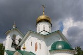 Church of St. Alexander Nevsky. Ashukino village. — Stock Photo