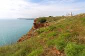 Bulgaria, Black Sea. Coastal landscape. Kaliakra headland — Stock Photo