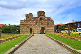 NESSEBAR, BULGARIA - JUine 11:The Christ Pantocrator Curch is da — Stock Photo