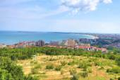 View of the city of Burgas — Stock Photo