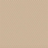 Beige knitted pattern — Stock Vector