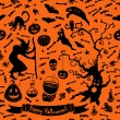 Halloween pattern — Stock Vector #55711989