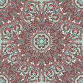 Floral ornamental pattern — Stock Vector