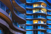 Luxury apartments in London — Stock Photo