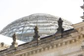 German Reichstag Dome — Foto de Stock