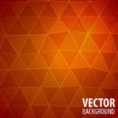 Abstract mosaic red background — 图库矢量图片