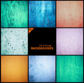 Collection of grunge textures and backgrounds — Stok fotoğraf