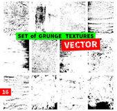 набор гранж текстур — Cтоковый вектор