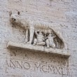 Постер, плакат: Marble inpression of the Capitoline Wolf or She Wolf statue