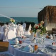 Outdoor Wedding Reception Setting — Stock Photo #57776053