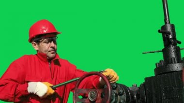 Oil and Gas Worker — Vidéo