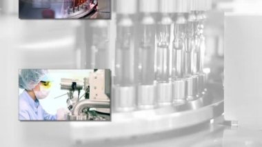 Pharmaceutical and Medicine Manufacturing — Stock Video