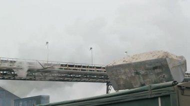 轮式装载机机 — 图库视频影像