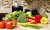 сырые овощи — Стоковое фото